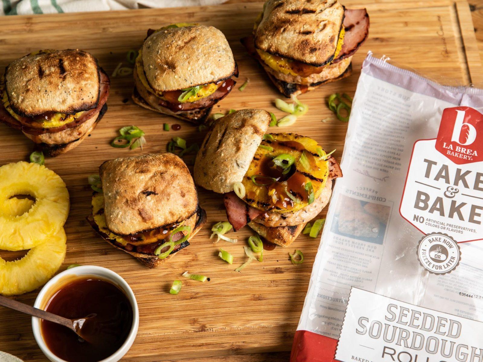 La Brea Bakery Aloha Chicken Sliders Draft