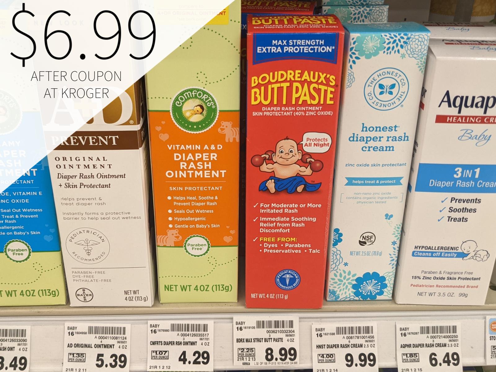 Boudreaux's Butt Paste Just $6.99 At Kroger