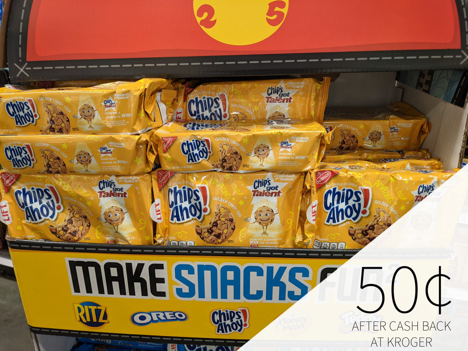 Chips Ahoy Cookies Only 50¢ At Kroger 1