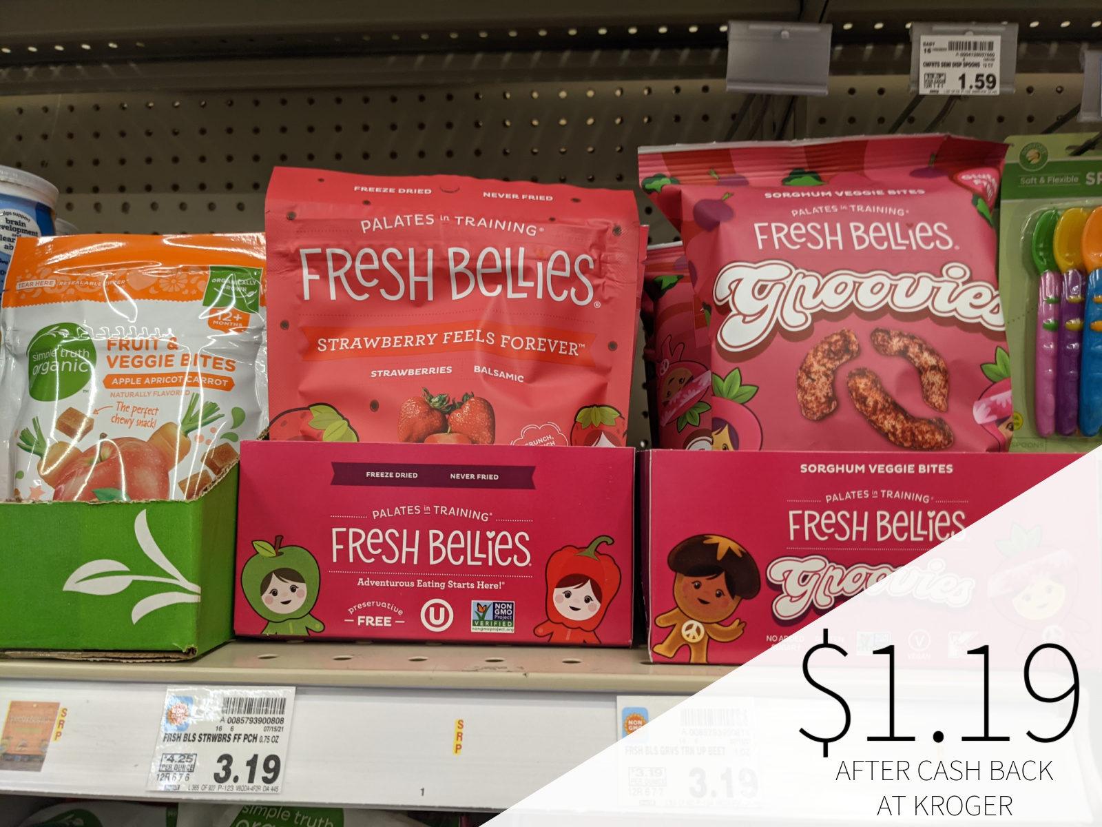 Fresh Bellies Snacks Only .19 At Kroger
