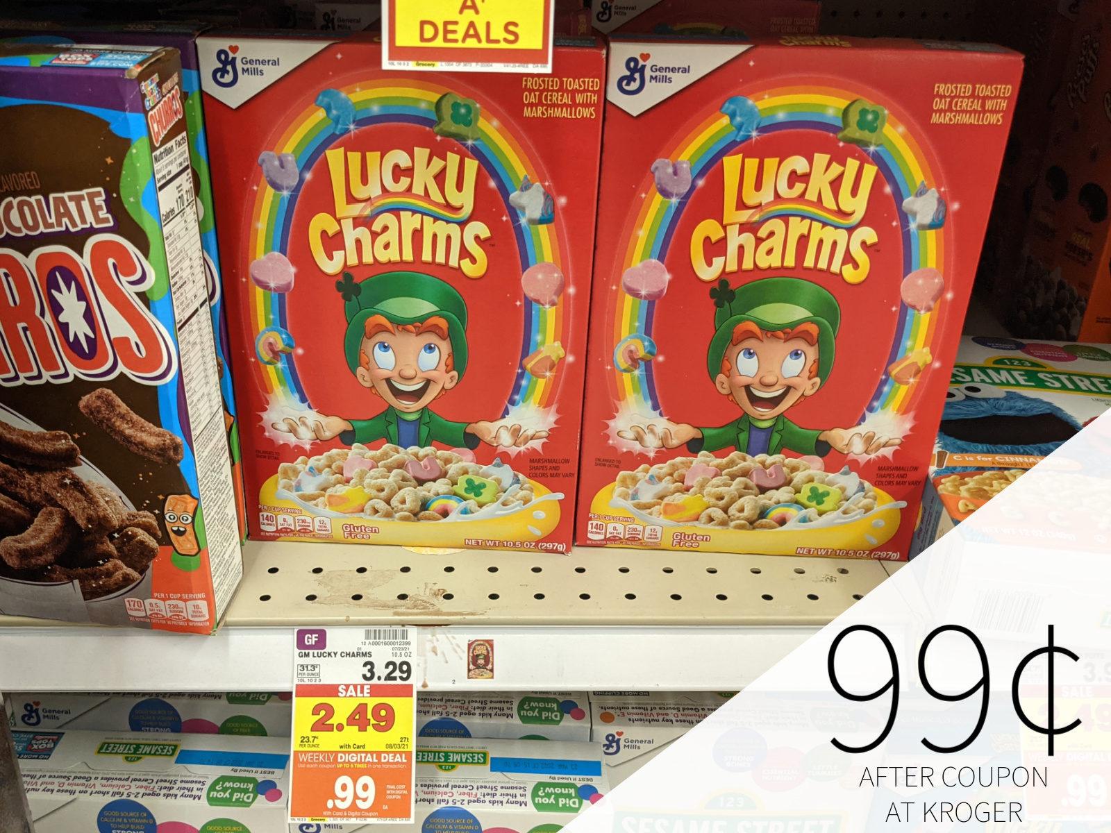 General Mills Cereal Only 99¢ At Kroger