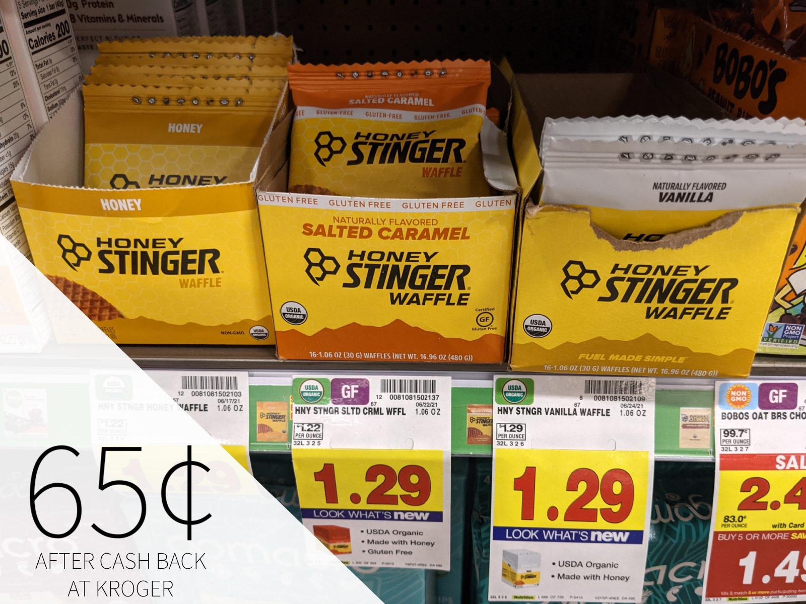 Honey Stinger Waffle Only 65¢ At Kroger