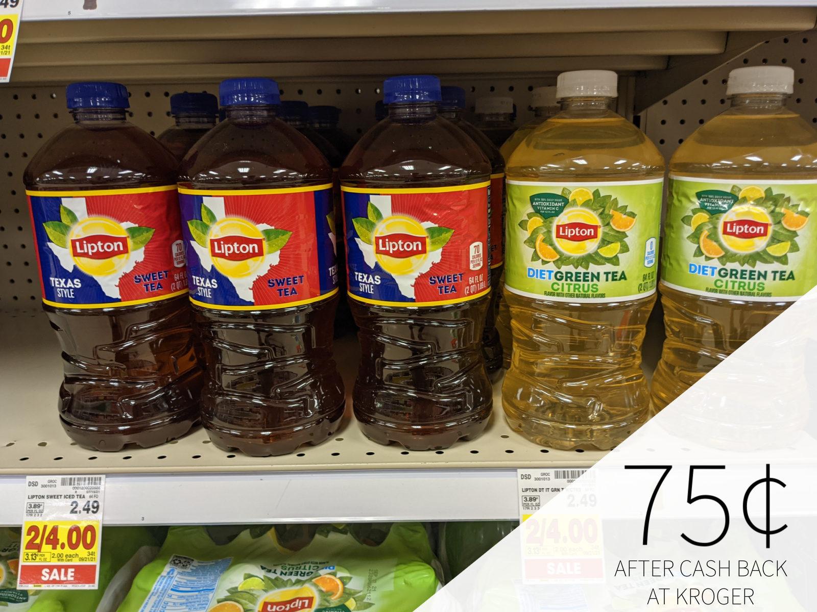 Lipton Tea Only .24 At Kroger 1
