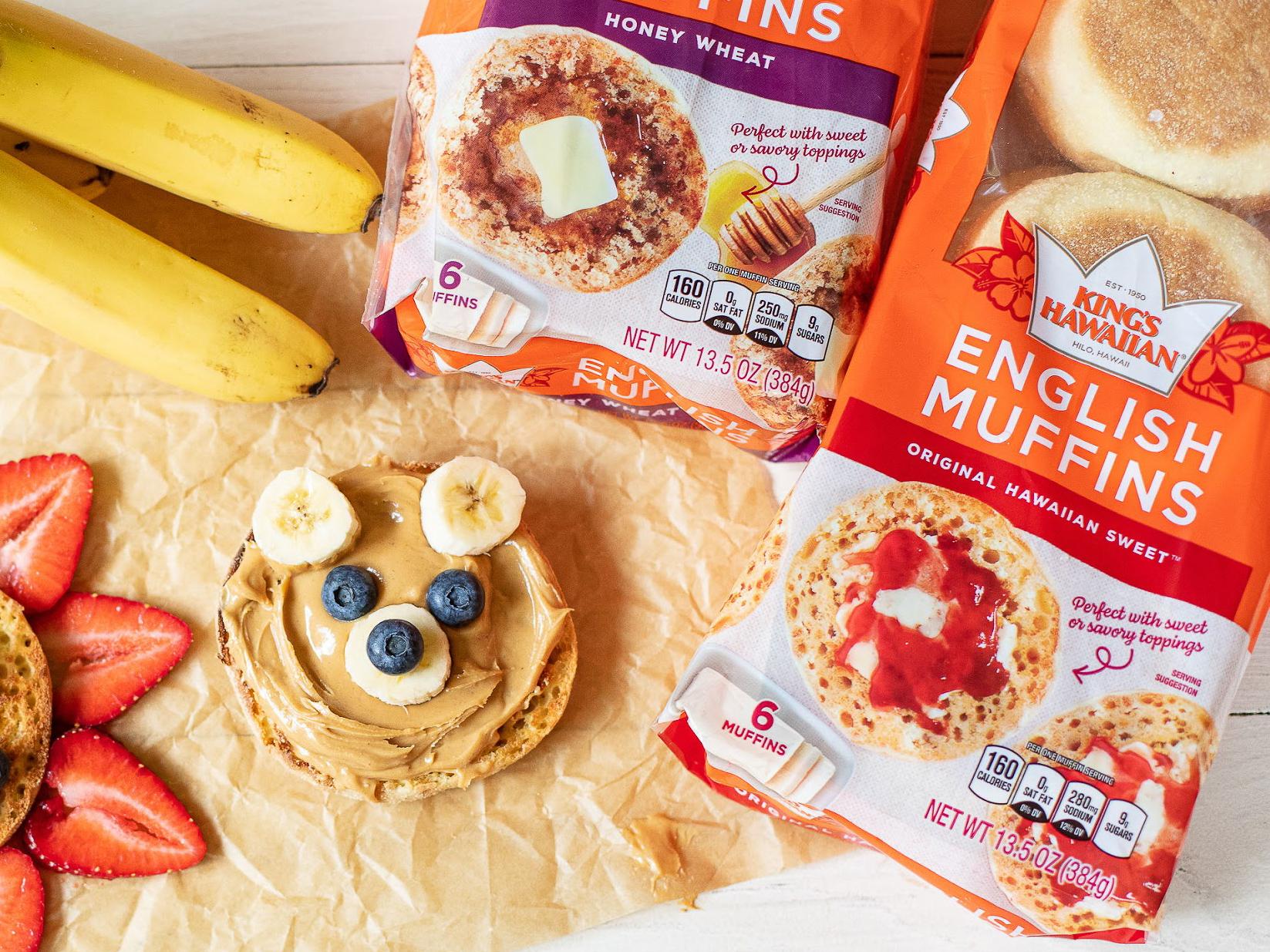 Back To School Is Tasty With King's Hawaiian English Muffins 1
