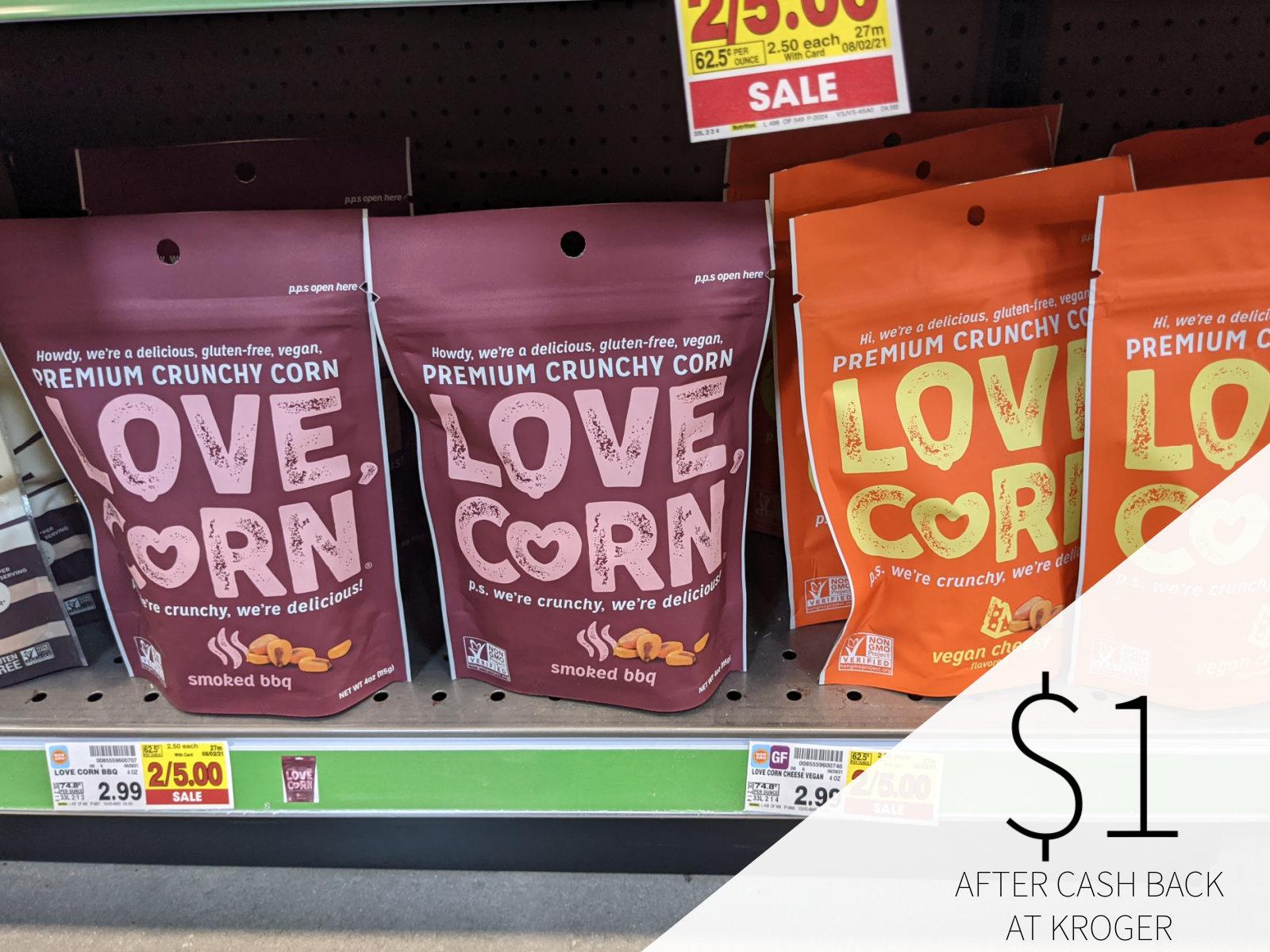 Love Corn Premium Crunch Corn Only  At Kroger