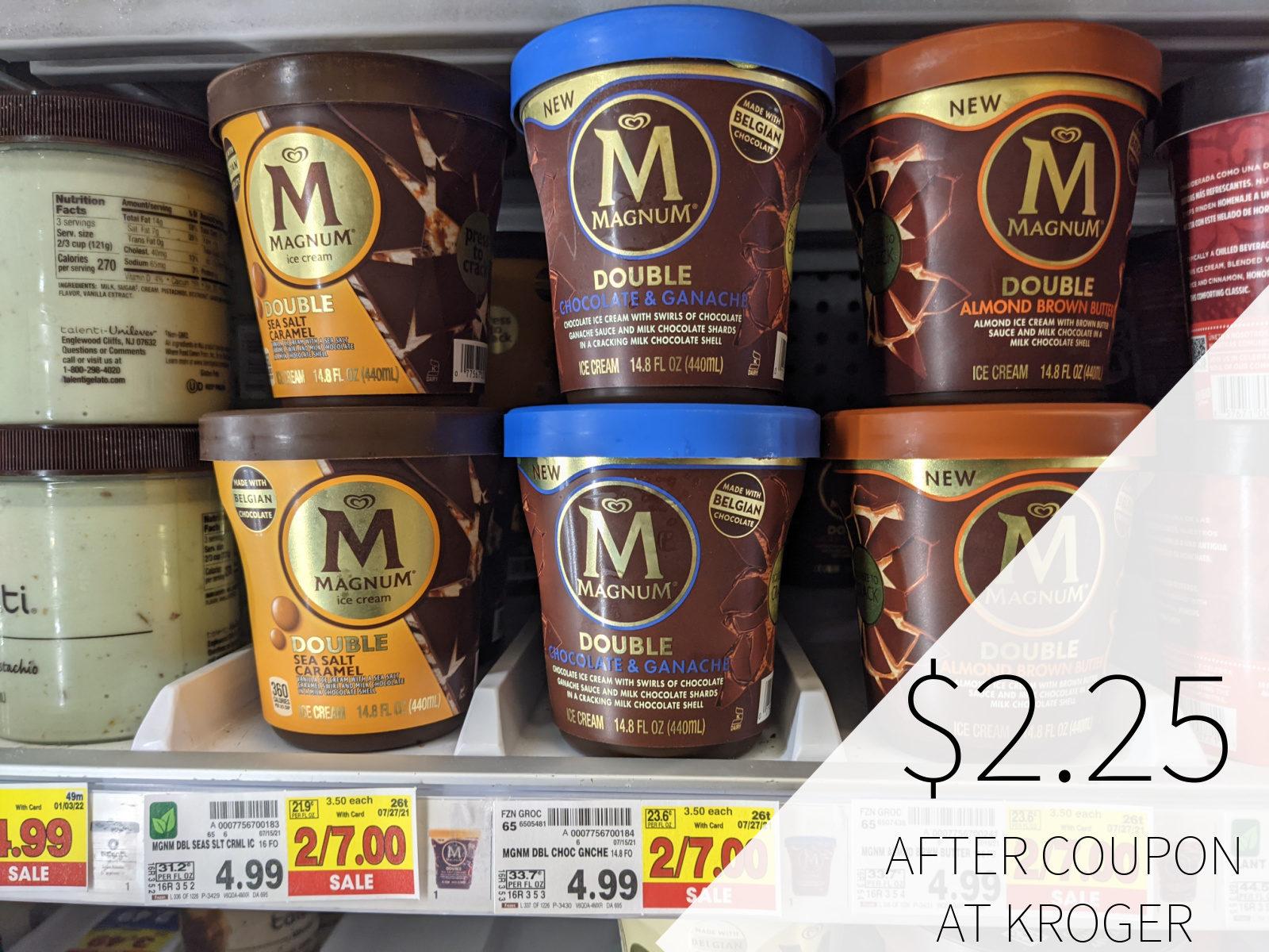 Magnum Ice Cream Only .08 At Kroger 1