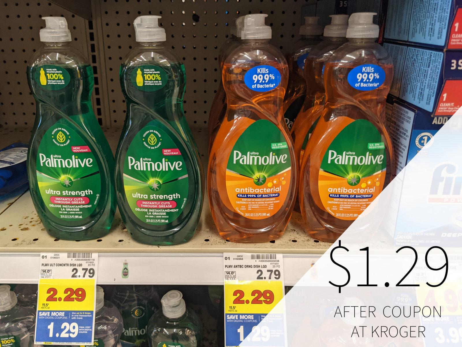 Palmolive Dish Soap Only .54 At Kroger