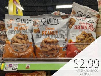 Quinn Pretzel Chips Or Nuggets Only .99 At Kroger