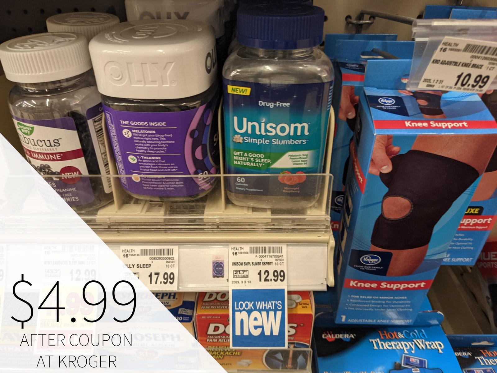 Super Discount On Unisom Simple Slumbers At Kroger