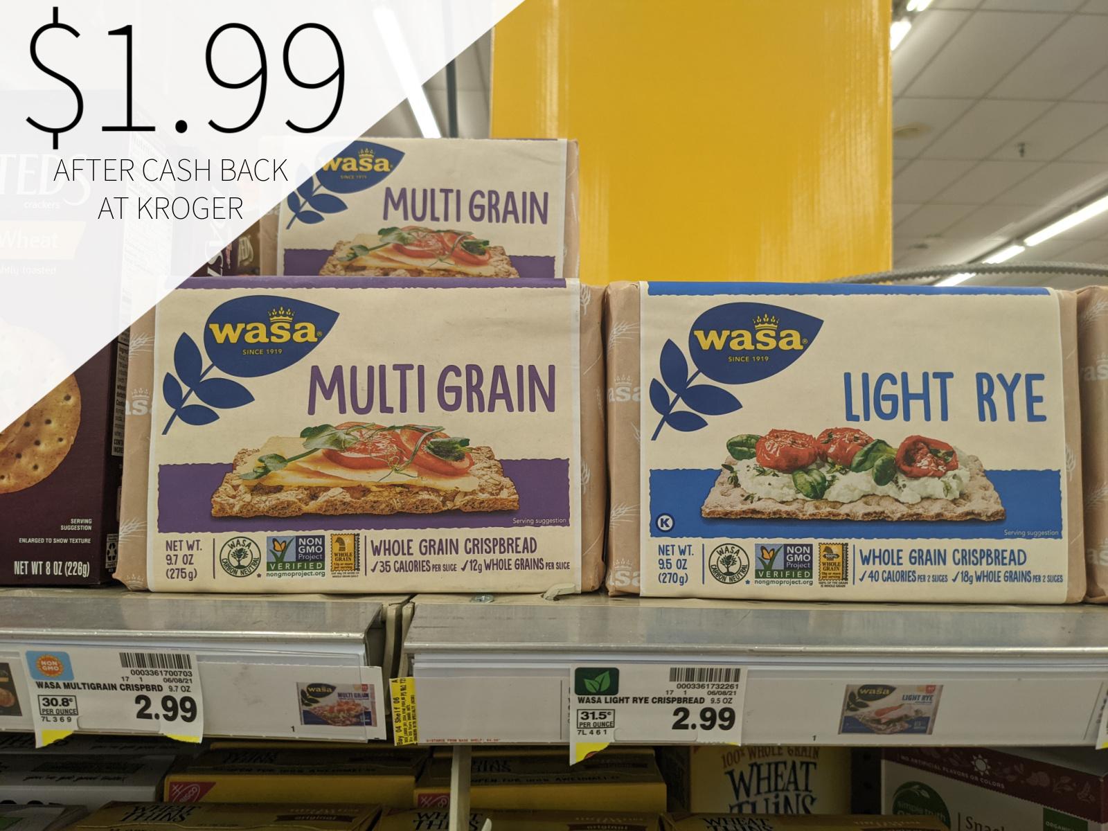 Wasa Crispbreads Only $1.99 At Kroger