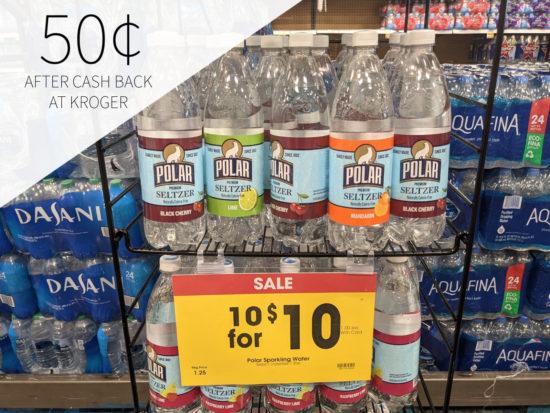 Polar Seltzer Water Only 50¢ At Kroger