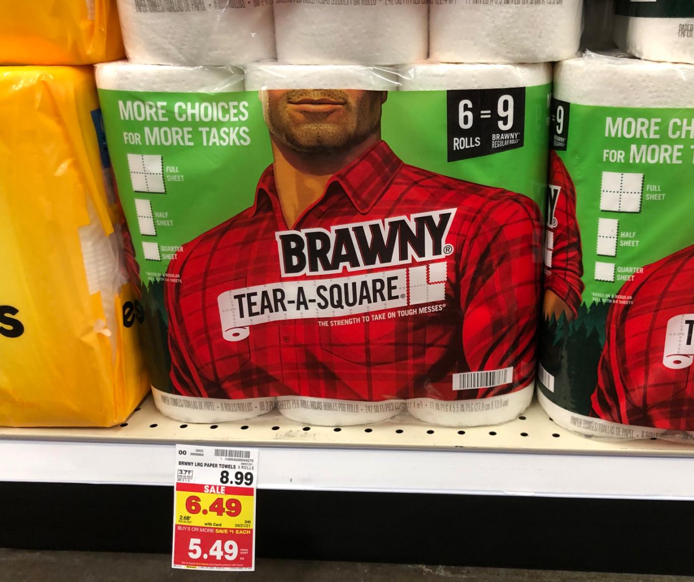 Brawny Paper Towels Just $3.99 At Kroger