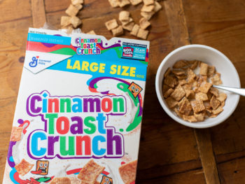 General Mills Cereal As Low As .29 At Kroger (Plus Free Cinnamon Toast Crunch Cereal) 1