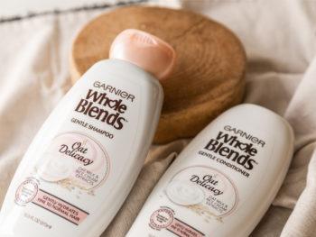 Garnier Whole Blends Shampoo & Conditioner Only .50 At Kroger