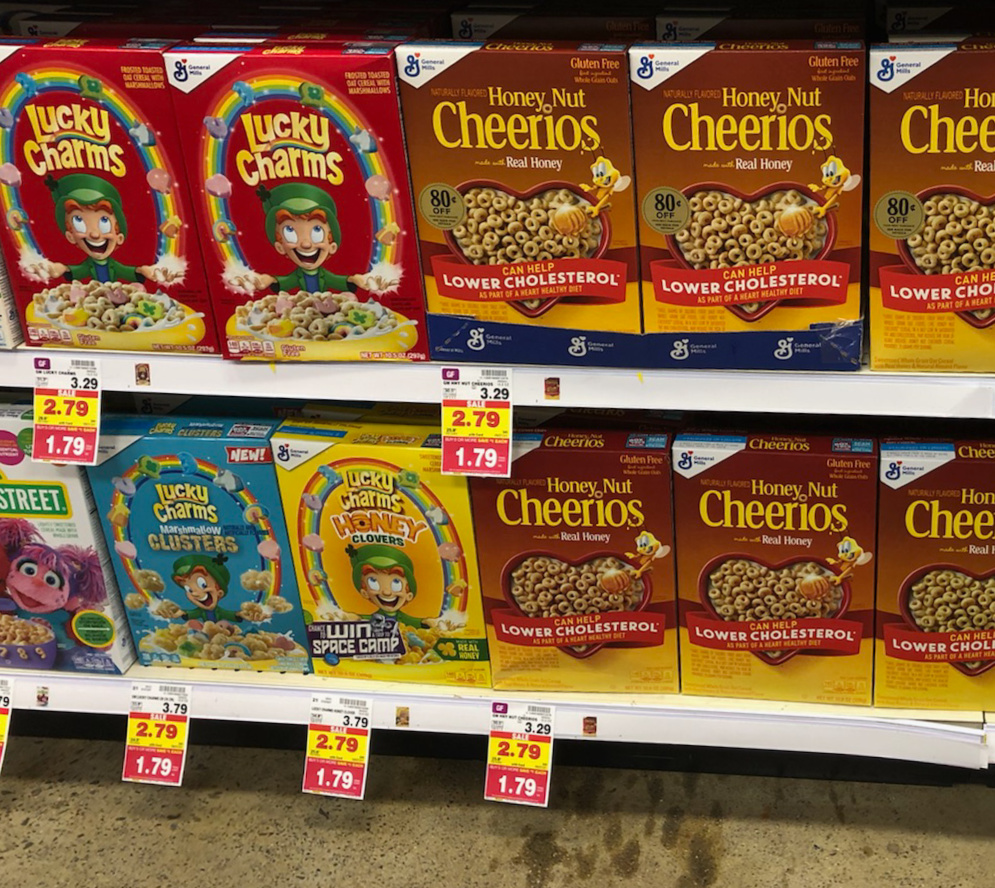 General Mills Cereal As low As $1.29 Per Box At Kroger