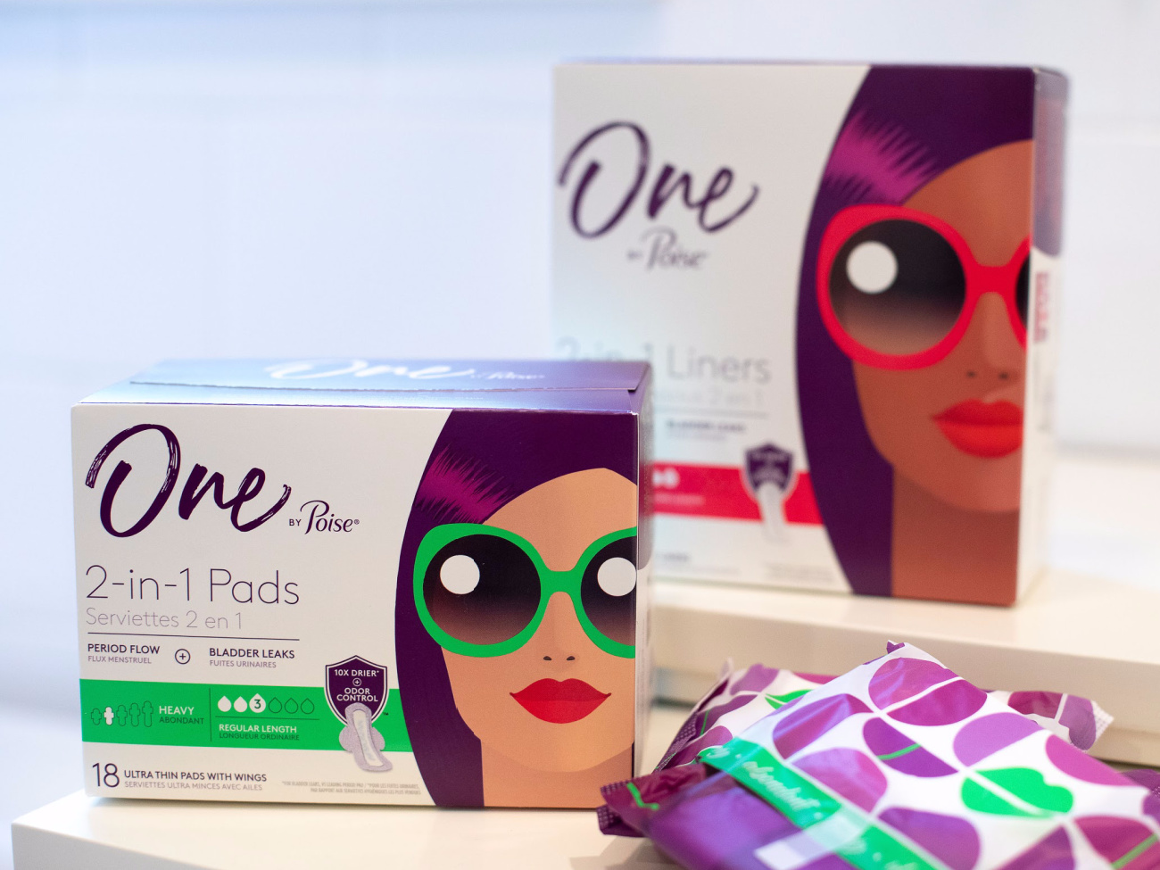 One By Poise Pads And Liners As Low As $ At Kroger