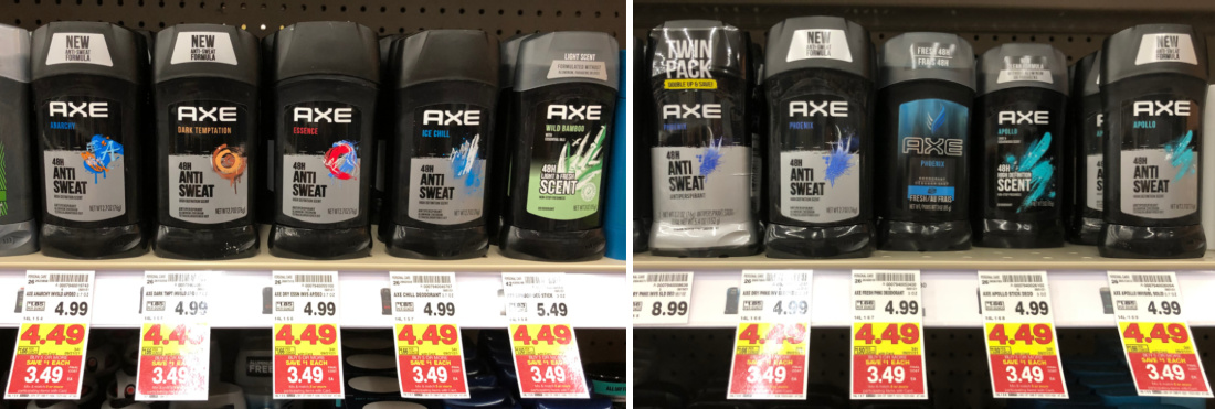 Axe Deodorant Just $ At Kroger