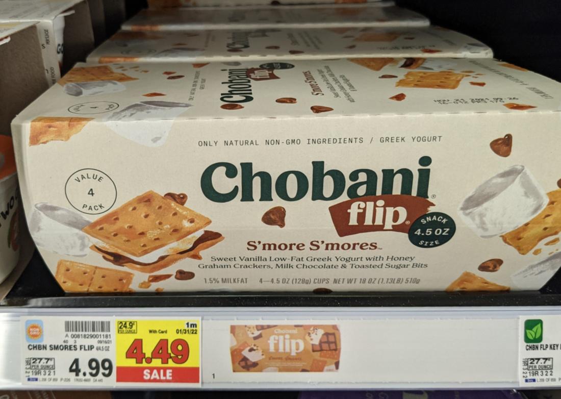 Chobani Flip Multipack As Low As $ At Kroger