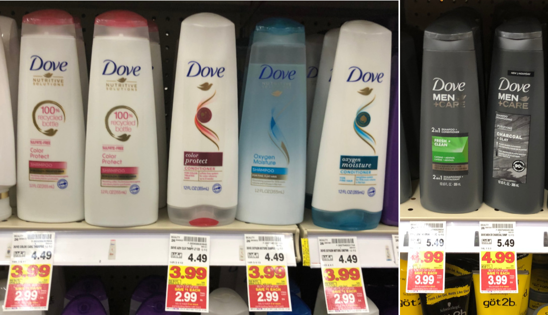 Dove Hair Care Products As Low As $ At Kroger