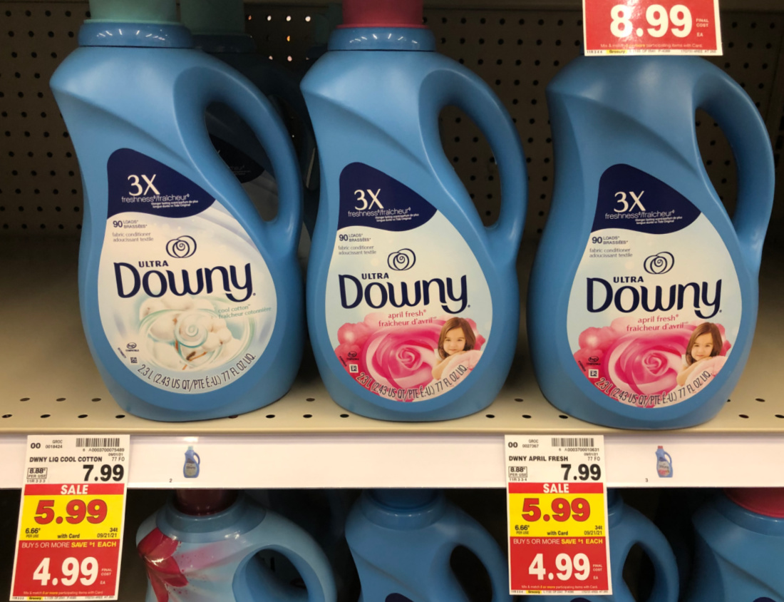 Downy Fabric Softener Just $ At Kroger