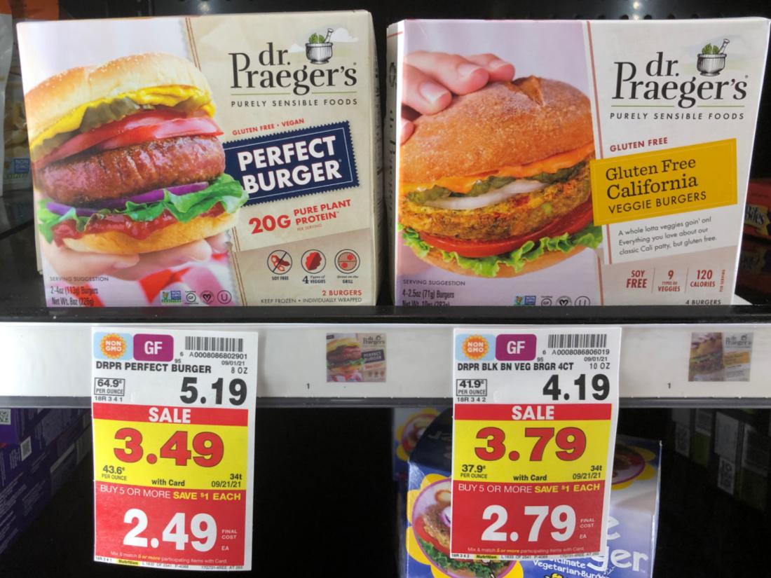 Dr. Praegar's Purely Sensible Foods As Low As $ At Kroger