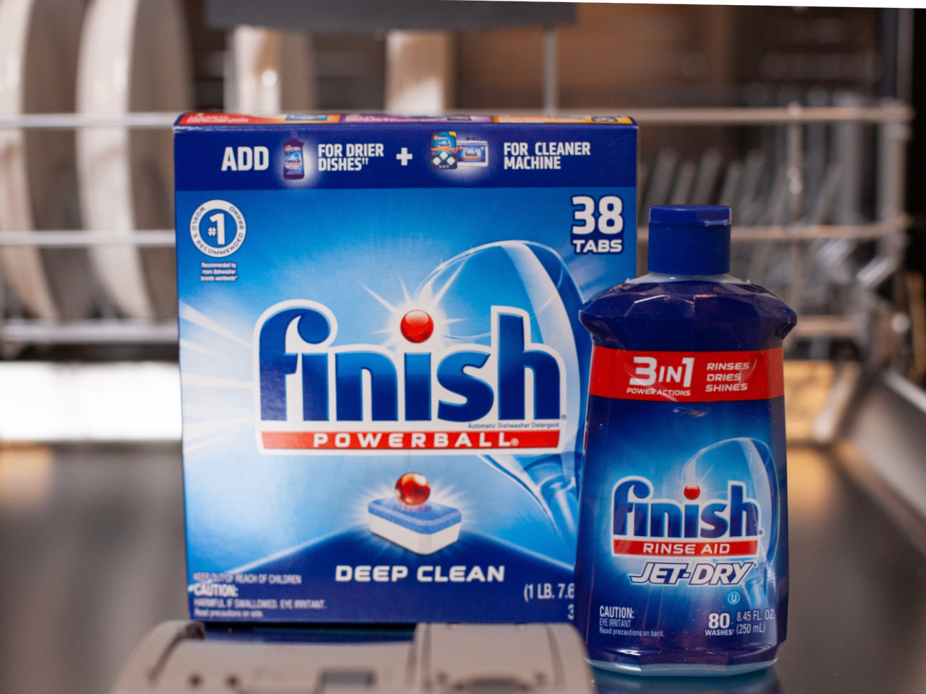 Finish Dishwashing Detergent And Rinse Aid As Low As .79 At Kroger
