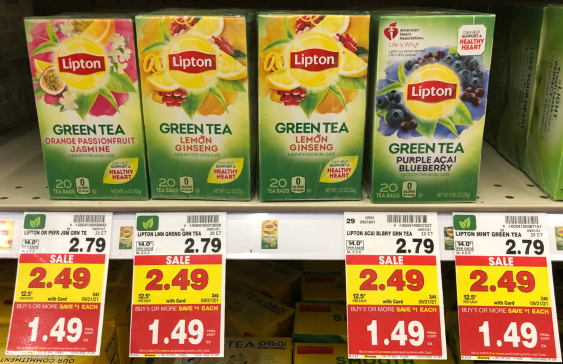Lipton Tea Bags As Low As $ At Kroger