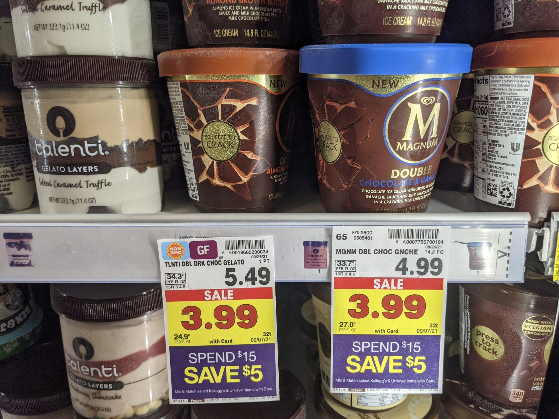 Get Magnum Ice Cream Tubs For Just $1.24 At Kroger 1