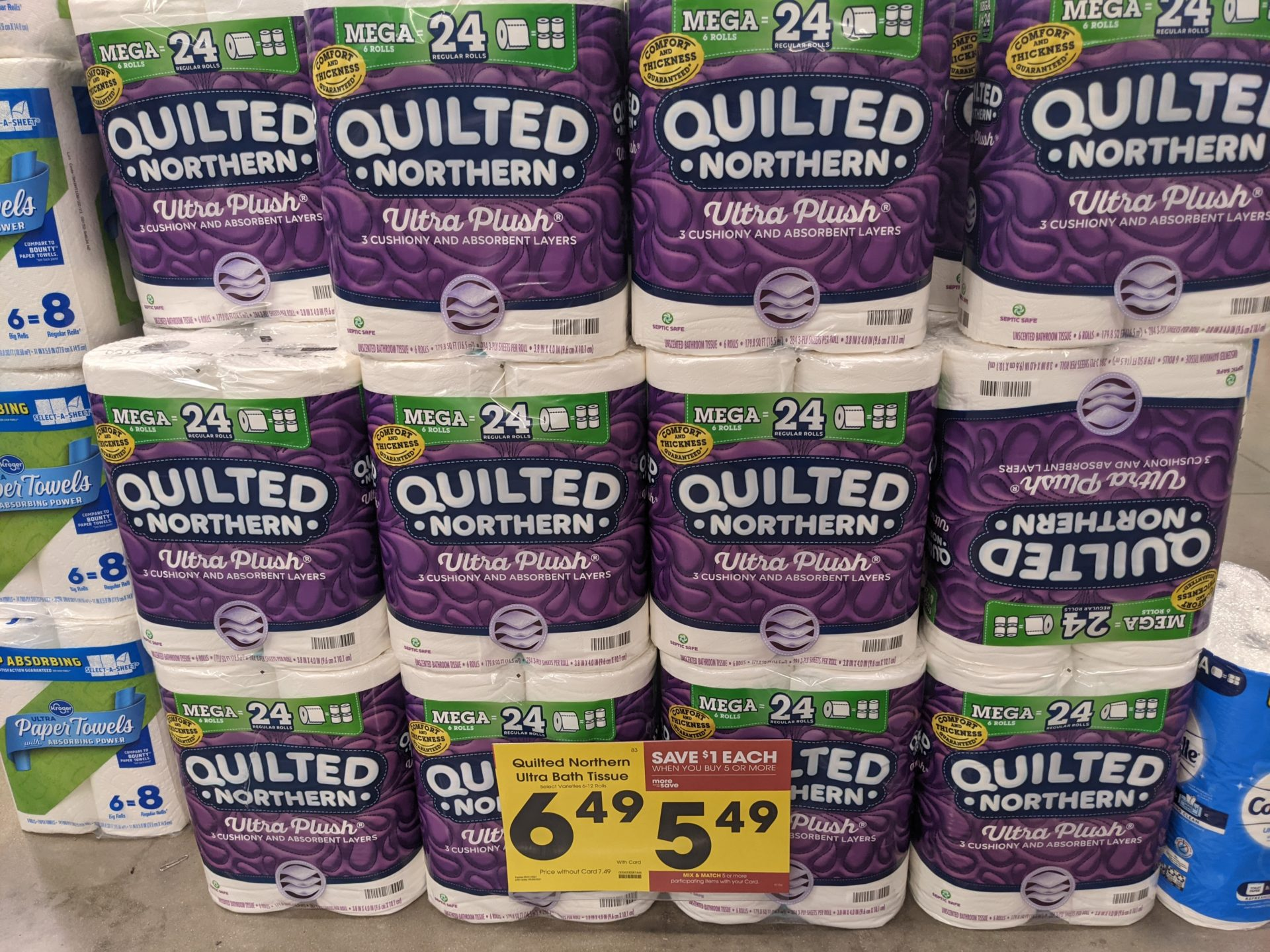 Quilted Northern Bath Tissue As Low As $4.49 At Kroger
