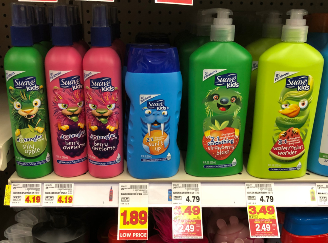 Get Suave Kids Hair Care As Low As $ At Kroger