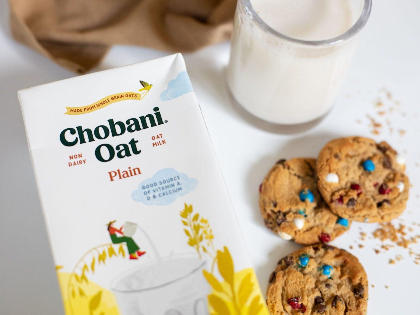 Chobani Shelf Stable Oat Milk Is .90 At Kroger