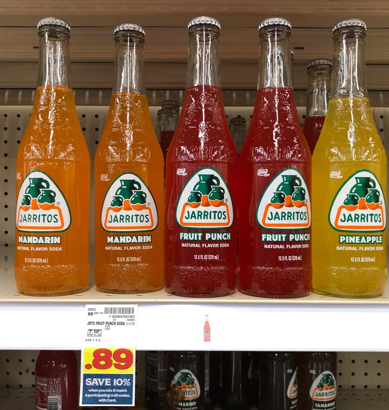 Get Jarritos Soda As Low As 64¢ At Kroger
