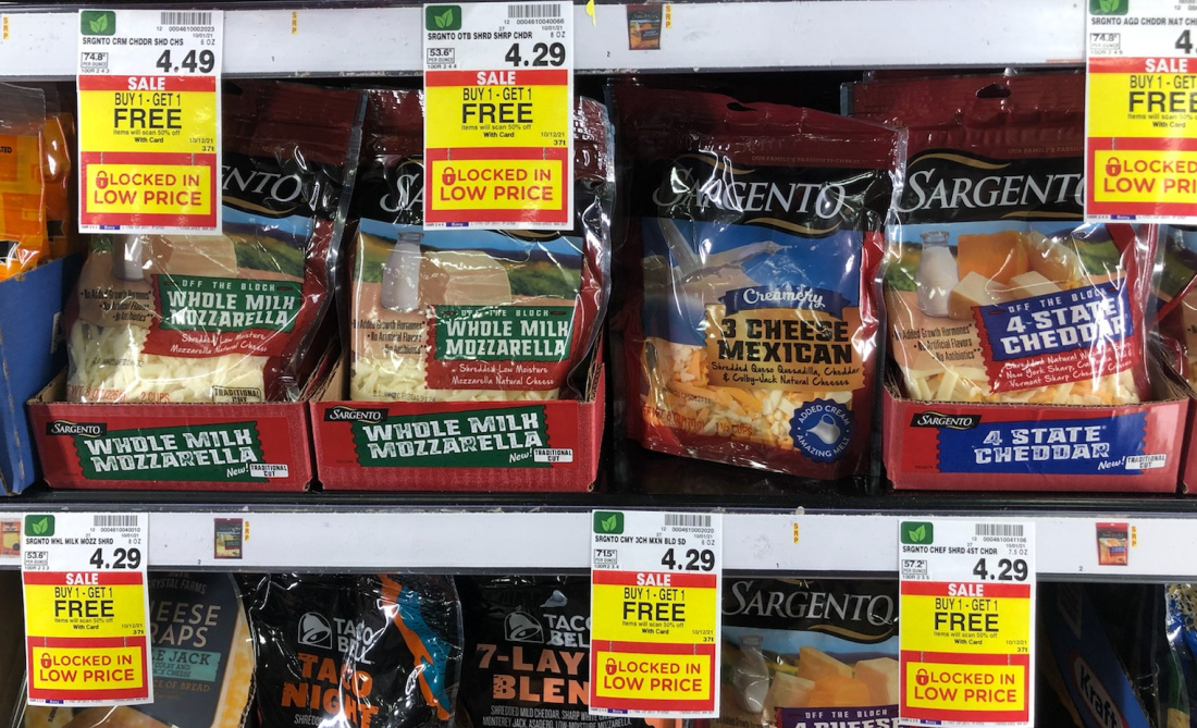 Sargento Cheese As Low As $1.40 At Kroger
